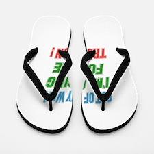 I'm going for the Triathlon Flip Flops
