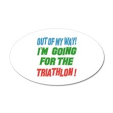 I'm going for the Triathlon Wall Decal