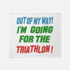 I'm going for the Triathlon Throw Blanket