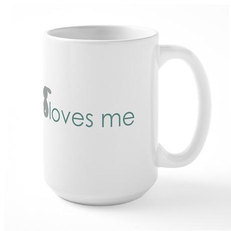 somebunny loves me Large Mug