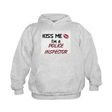 Kiss Me I'm a POLICE INSPECTOR Hoody