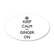 keep ginger crown.PNG Wall Decal