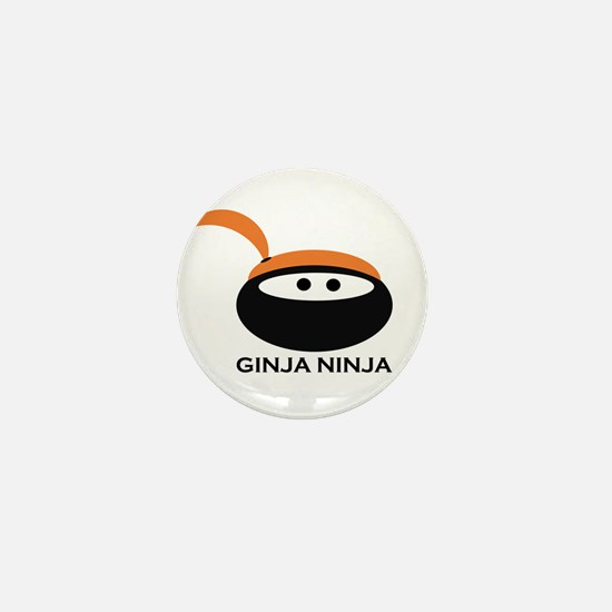 Ginja Ninja Girl - special design Mini Button (10