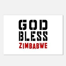 God Bless Zimbabwe Postcards (Package of 8)