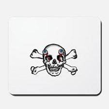 Skull and eyes Mousepad