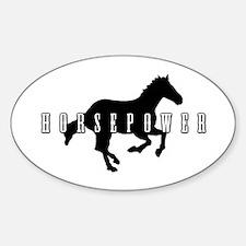 Horsepower Decal