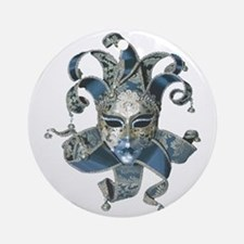 Venetian Mask Round Ornament