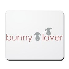 bunny lover Mousepad