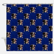 Pirate Skull And Hat Shower Curtain