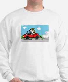 racing driver dog Jumper