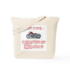Biker Baby Cry - MOM Tote Bag