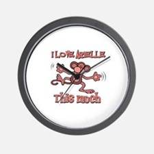 I Love ARIELLE Wall Clock
