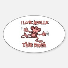 I Love ARIELLE Decal
