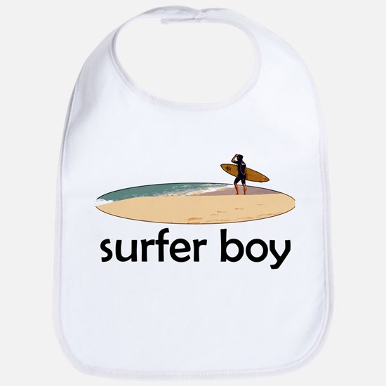 Surfer Boy Bib