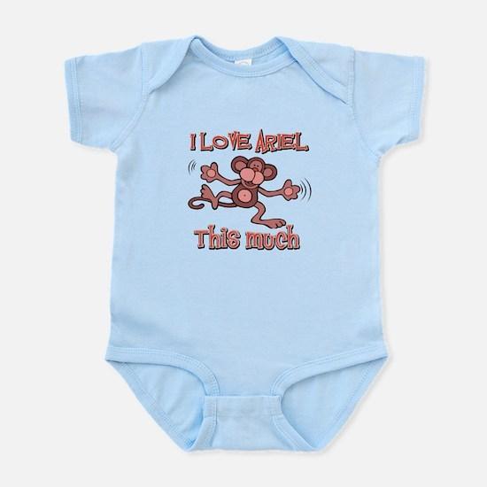 I Love ARIEL Infant Bodysuit