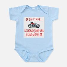 Biker Baby Cry - DAD Infant Bodysuit