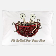Unique Flying spaghetti monster Pillow Case