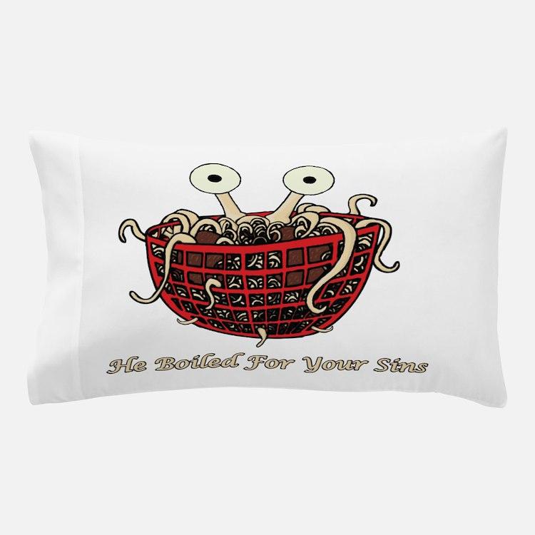 Cute Flying spaghetti monster Pillow Case