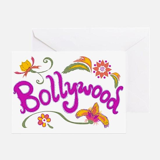 Bollywood Name Greeting Card