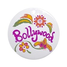 Bollywood Name Ornament (Round)