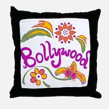 Bollywood Name Throw Pillow