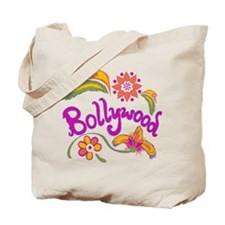 Bollywood Name Tote Bag