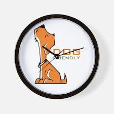 dog friendly Wall Clock