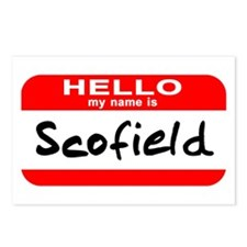 Hello My Name is Scofield Postcards (Package of 8)