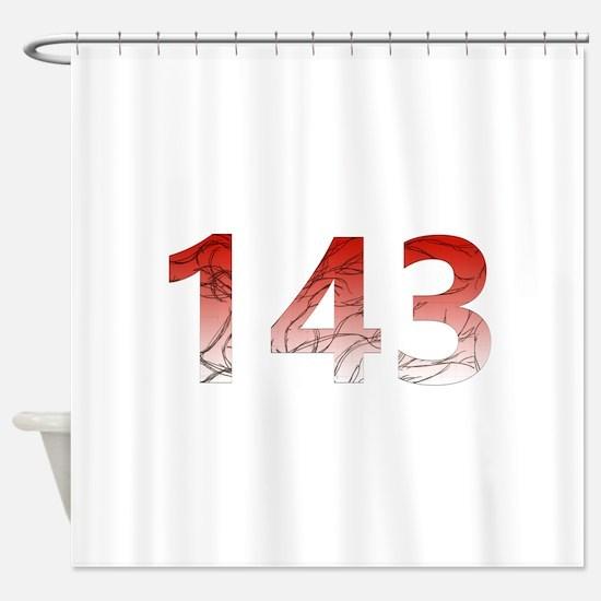 143 Shower Curtain