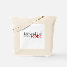 Scope podcast logo white Tote Bag