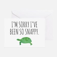 I'm Sorry I've Been So Snappy Greeting Cards