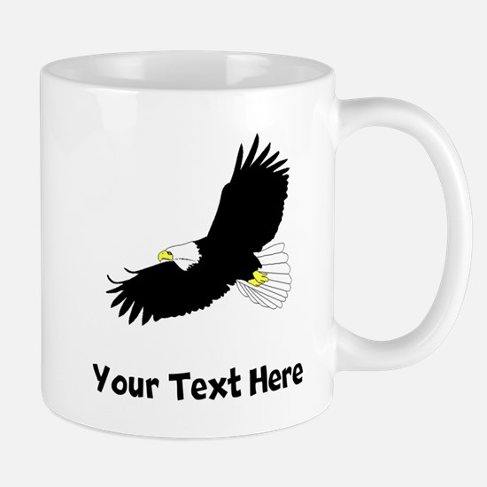 Bald Eagle Flying (Custom) Mugs