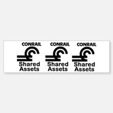 Conrail Shared Assets Bumper Bumper Bumper Sticker