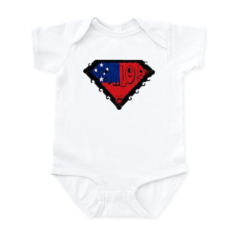 Samoa Flag Infant Bodysuit