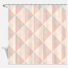 Cute Blush Shower Curtain