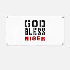 God Bless Niger Banner