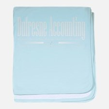 Dufresne Accounting baby blanket