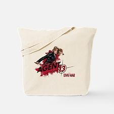 Agent 13 Splatter Tote Bag
