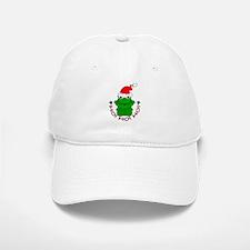 Cartoon Frog Santa Baseball Baseball Cap