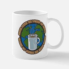 Coffee Makes the World Go Round Mug