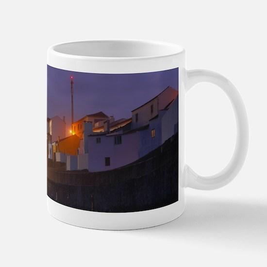 Ribeira Grande at night Mugs