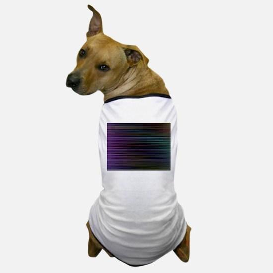 Decorative Colorful Stripes Dog T-Shirt
