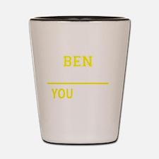 Unique Ben Shot Glass