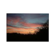 LBI Sunset Rectangle Magnet