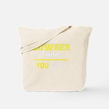 Cute Bowser Tote Bag