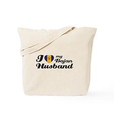 I love my Bajan Husband Tote Bag