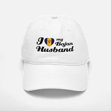 I love my Bajan Husband Baseball Baseball Cap