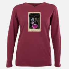 Rose Of Sharon Wishes Plus Size Long Sleeve Tee