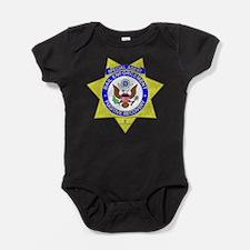 Unique Bail agent Baby Bodysuit