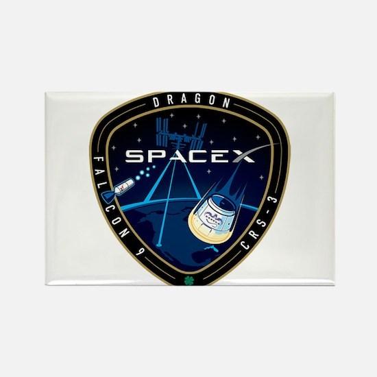 CRS-3 Logo Rectangle Magnet